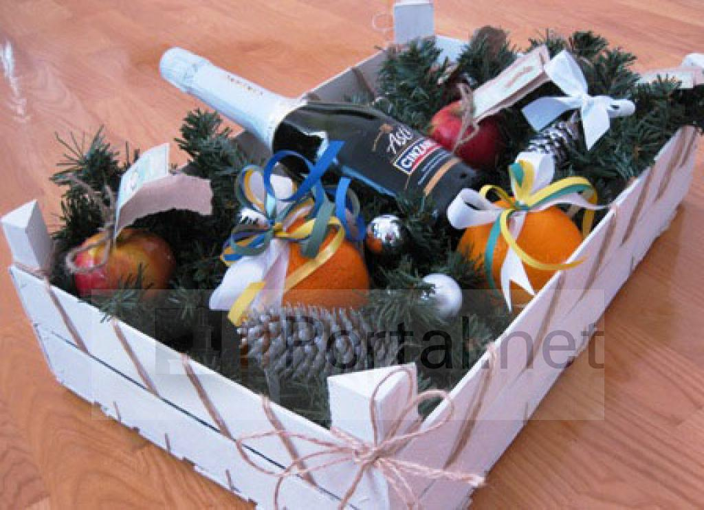 Подарки корзины своими руками